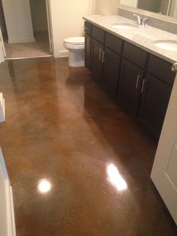 stained concrete bathroom floor 60 best stained concrete by premier concrete designs llc 20638