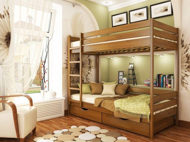 На сайте МебельОк можно купить двухэтажную кровать Дуэт под матрасы размером 80х190см. Большой ассортимент кроватей. Доставка кроватей по Киеву и регионам.