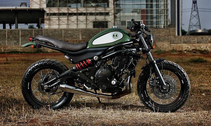 The Vary – Kawasaki ER6N Scrambler