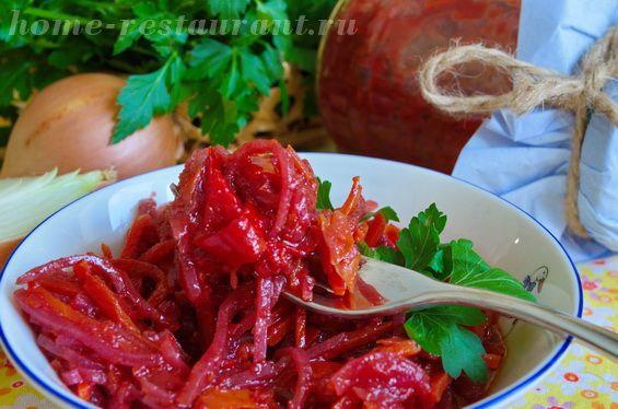 Салат из свеклы на зиму «Алёнка» | Домашний Ресторан
