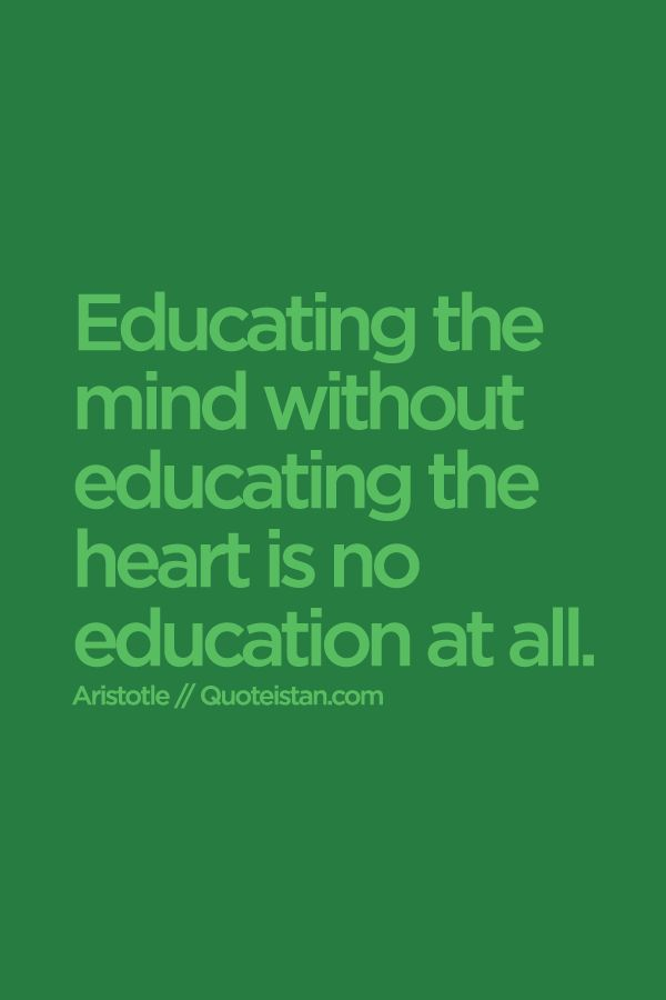 educating