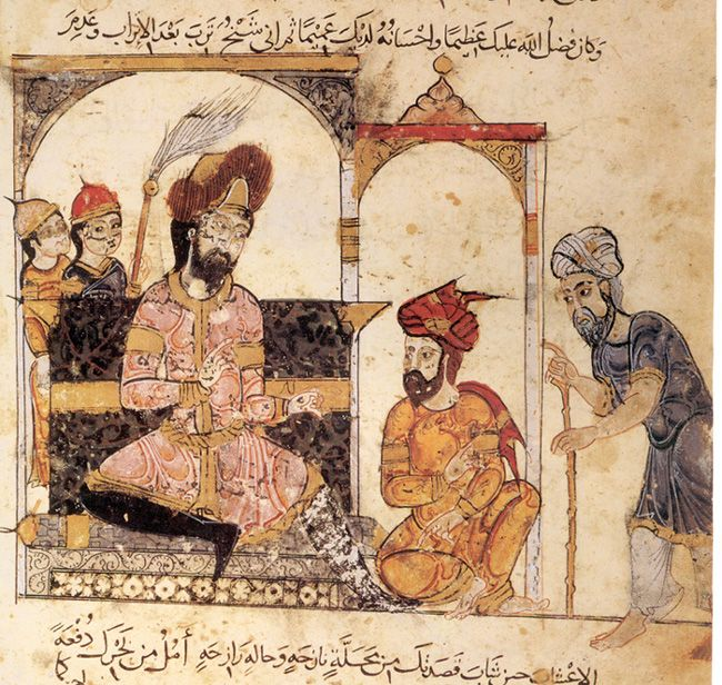 The Abbasid Caliphate was the third of the Islamic caliphates. It was ruled by the Abbasid dynasty of caliphs, who built their capital in Baghdad after overthrowing the Umayyad caliphate from all but the al-Andalus region. Approx 6th - 8th century. AD
