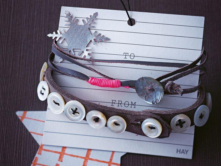 Armbänder basteln macht nicht nur großen Spaß, sie sind auch tolle Geschenke - zum ...