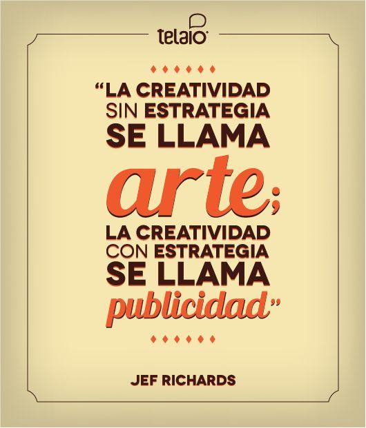 #creatividad #frase #quote #publicidad