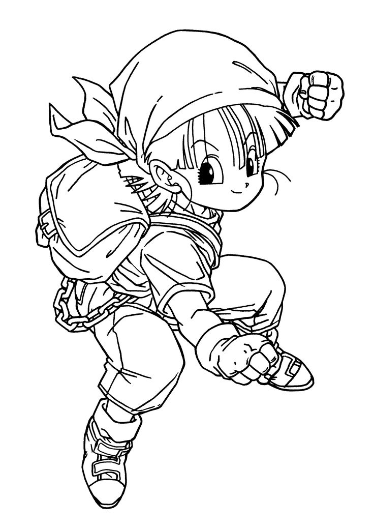 Dragon Ball Z Coloring Pages Your Toddler Will Love
