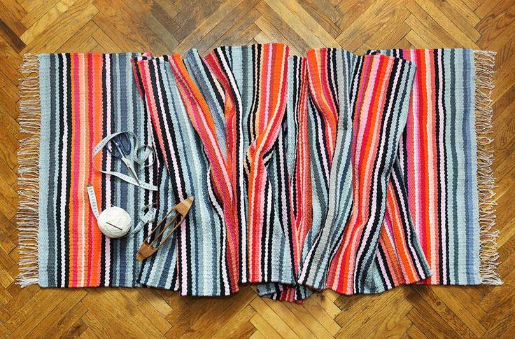 "Woven carpet ""Autumn breath"". Nature inspires #babynakrasunia #woven #wovencarpet #rugs #carpet #natureencourages #colors #stripes #stylishcarpet #ecofriendlyfashion #handmade"