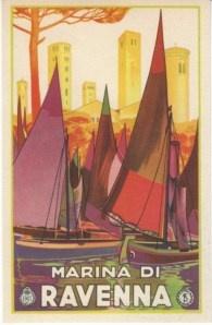 Marina di Ravenna  #postcard