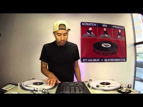 Learn To DJ Tutorial: Effective Scratches for Mixing Into Songs (DJ As-One)