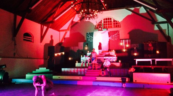 The Diocesan School for Girls and St Andrew's College recently collaborated to put on the play Ipi Zombie.