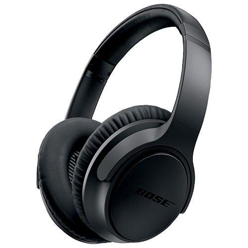 Bose SoundTrue II Over Ear Headphones with Mic (Apple) (ST AE II BLACK MFI) - Charcoal