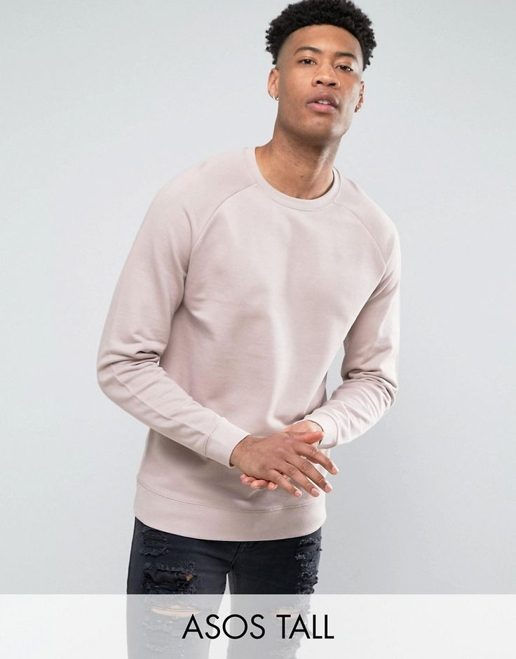 ASOS TALL Sweatshirt In Pink - Pink