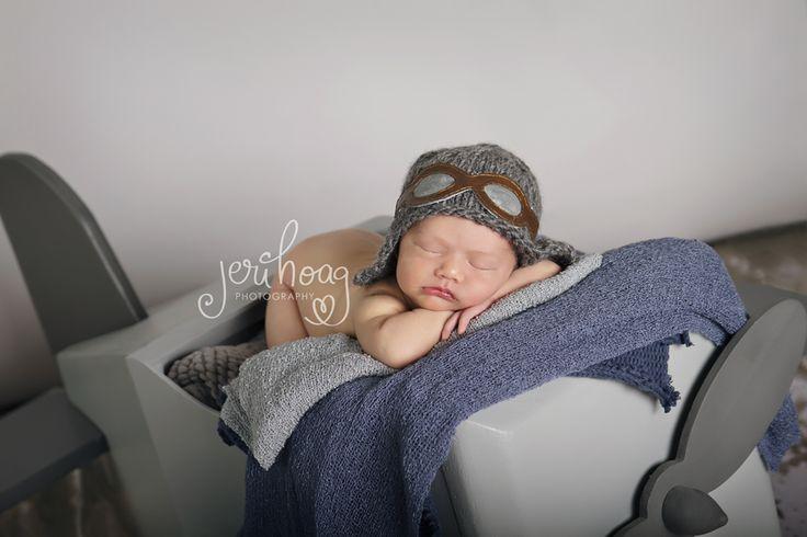 Newborn Magazine | Jeri Hoag Photography | Flying Newborn