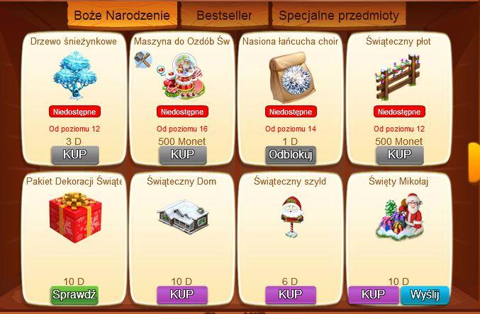 Bożonarodzeniowe dekoracje w Wiejskim Życiu http://grynank.wordpress.com/2013/12/18/bozonarodzeniowe-dekoracje-w-wiejskim-zyciu/ #gry #nk #wiejskieżycie
