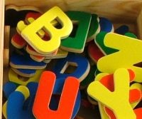 magnetic lowercase and capital letters  $17.95