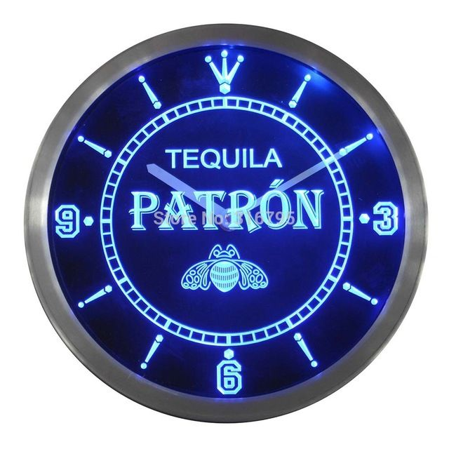 We love it and we know you also love it as well nc0114 Tequila Patron Bar Pub Beer Neon Sign LED Wall Clock just only $36.99 with free shipping worldwide  #clocks Plese click on picture to see our special price for you