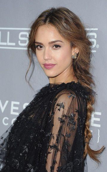 So easy machst du den Valentino-Zopf von Jessica Alba nach braid