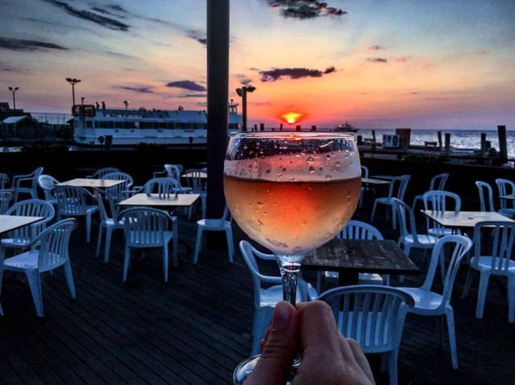 Dodge the traffic and pilot your sea cruiser towards one of Fire Island's coastal dining hotspots.