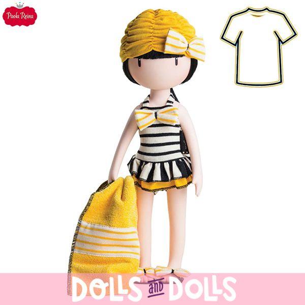 ¡YA DISPONIBLES EN DOLLSANDDOLLS LOS VESTIDOS PARA LAS MUÑECAS GORJUSS!  Si eres fan de las #muñecasGorjuss no pueden faltar en tu colección los dos nuevos vestidos creados por #PaolaReina para estas encantadoras #muñecas: Beach Belle para que tú #muñeca Gorjuss pueda disfrutar de la playa contigo y Goodnight Gorjuss con el que podrá descansar después de un agotador día. #Dolls #DollsMadeInSpain #SantoroLondon #MuñecasPaolaReina #GorjussDeSantoro #MuñecasSinBoca #Novedades