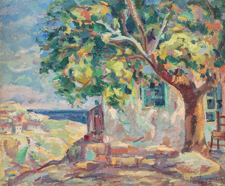 Dărăscu, Nicolae The House With Linden Tree from Balcic © nd