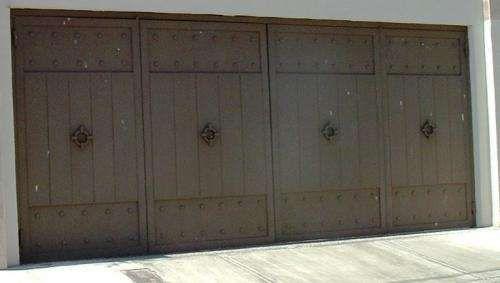 Las 25 mejores ideas sobre portones de garage en - Muebles para garage ...