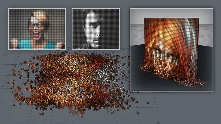 How to convert any image to Pixel Art in Cinema 4D