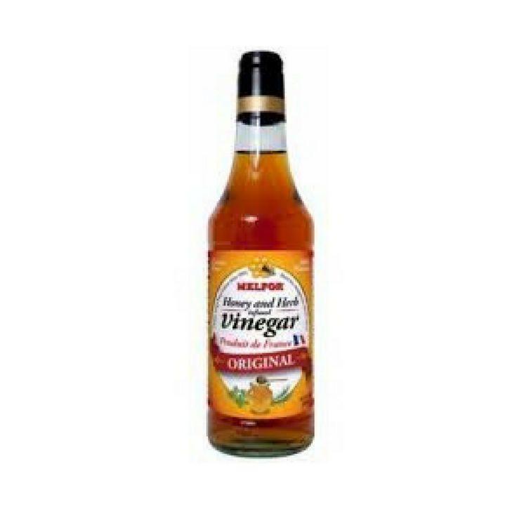 Melfor · Vinegar original, glass bottle · 50cl  #LeTablierbleu #FrenchCuisine #FrenchFood #TOPCHEFS
