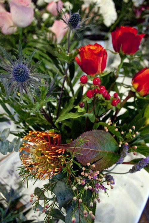Flower Arranging Workshop Megan Claire Floral Design - The Corner Store Gallery www.cornerstoregallery.com
