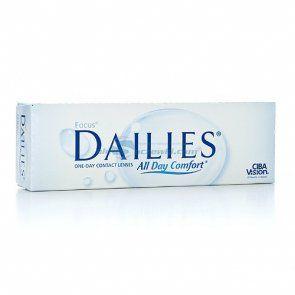 Soczewki kontaktowe Focus Dailies All Day Comfort 30 szt. - soczewki jednodniowe, sferyczne