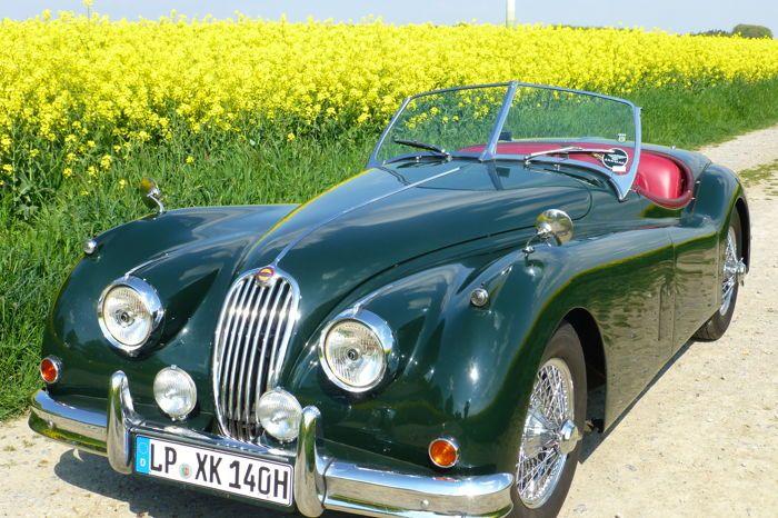 Online veilinghuis Catawiki: Jaguar XK 140 SE C OTS Roadster