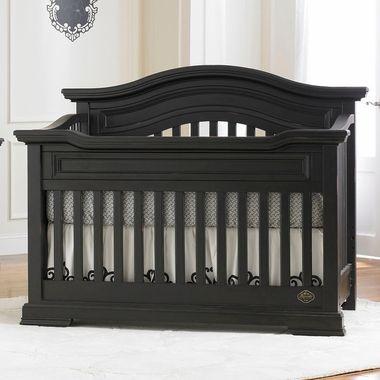 Bonavita belmont lifestyle 4 in 1 convertible crib in for Bonavita nursery furniture