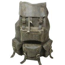 Custom handmade Leather Travel Backpack