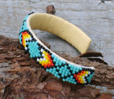 DIY No Beading Indian Beaded Bracelet