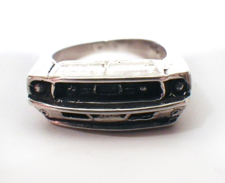 67 Ford Mustang Ring By Hi Octane Jewelry