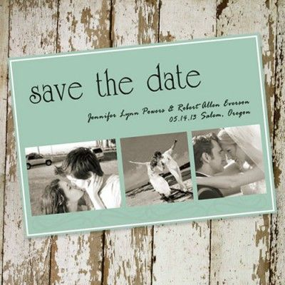Cheap save the date photo EWSTD014 |