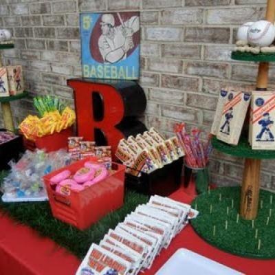 Backyard Baseball Party {Boy Birthday Party Ideas}