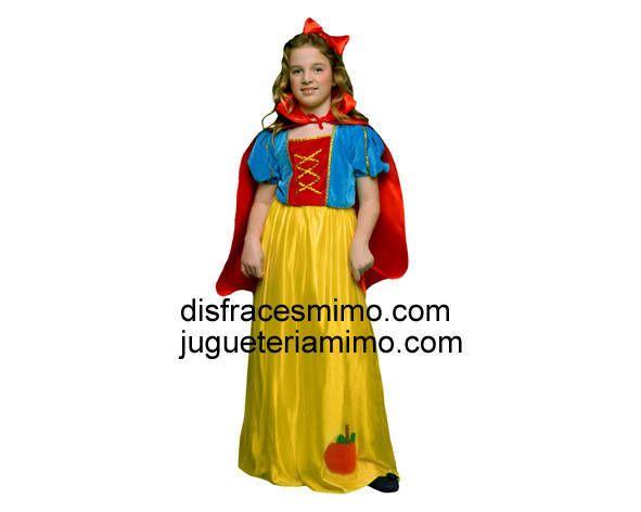 Tu mejor disfraz de blancanives para niña bt 89023.Este comodísimo traje es perfecto para carnavales, espectáculos, cumpleaños y tambien para las fiesta de los colegios como fin de curso o cualquier otras actividadesCategoria: disfraces infantiles de niña.disfraces de principes y princesas incluye: vestido, capa y diadema.