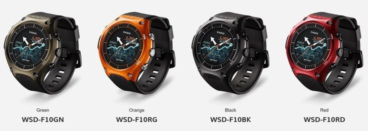 Casio Android Smart Watch WSD-F10