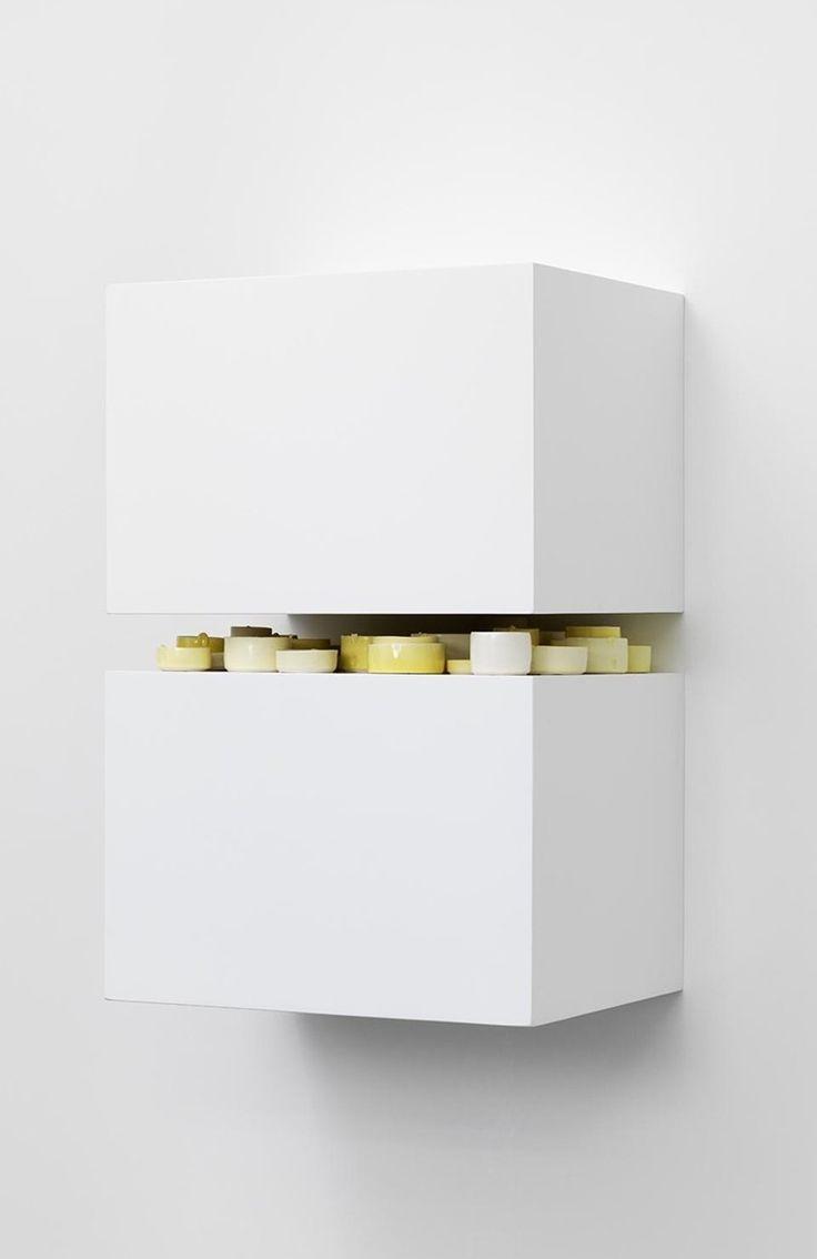 """Edmund de Waal [UK] (b 1964) - """"Tristia"""", 2007.   #art #sculpture #abstract #conceptualart #MinimalArt #installation"""