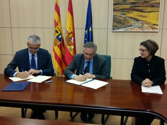 El blog de Joaquín Ventura: DGA y Fundación Ibercaja refuerzan su colaboración en los espacios naturales protegidos de Aragón
