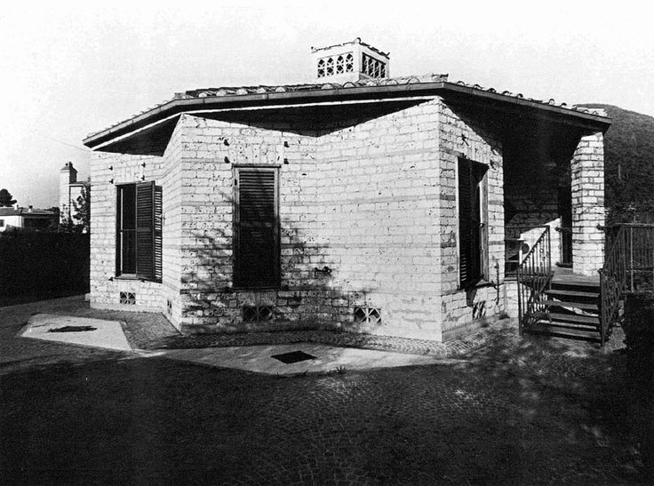 "Casa Lina Marmore, Terni, Italy; 1966 Mario Ridolfi ""see map "" Taken from…"