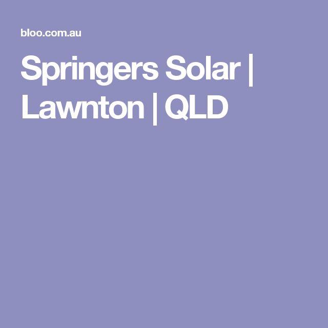 Springers Solar | Lawnton | QLD