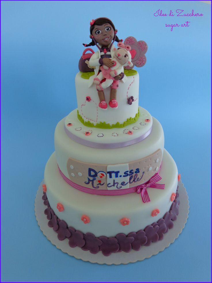 doc mcstuffins cake torta dottoressa peluche