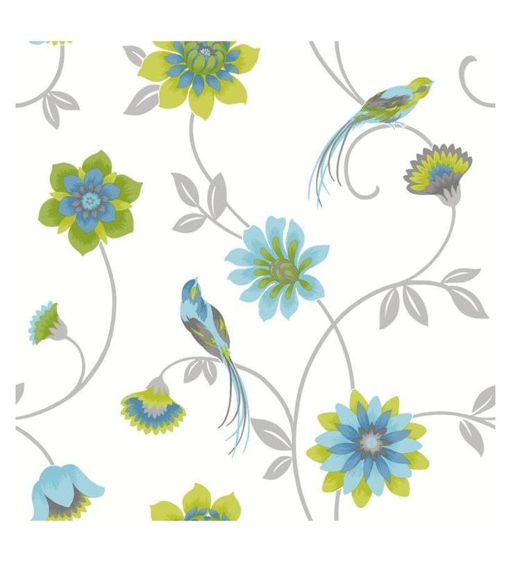 Las 25 mejores ideas sobre papel pintado flores en - Fabricantes papel pintado ...