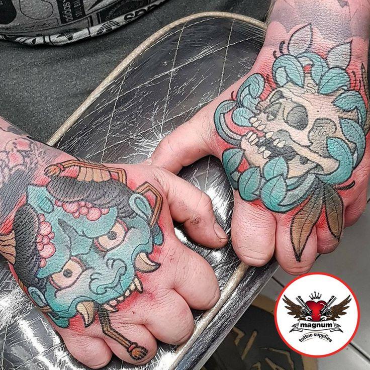 Sick job stoppers using #magnumtattoosupplies 👊👊👌👌 from Mint Gun Club Tattoo Parlour  Mikkel Østberg