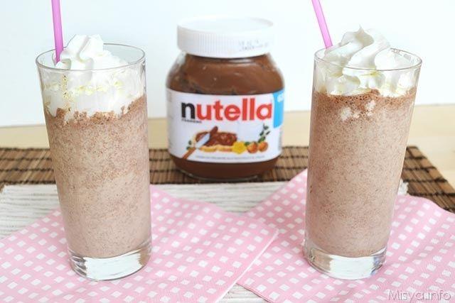 Frappè alla nutella, scopri la ricetta: http://www.misya.info/2015/05/22/frappe-alla-nutella.htm