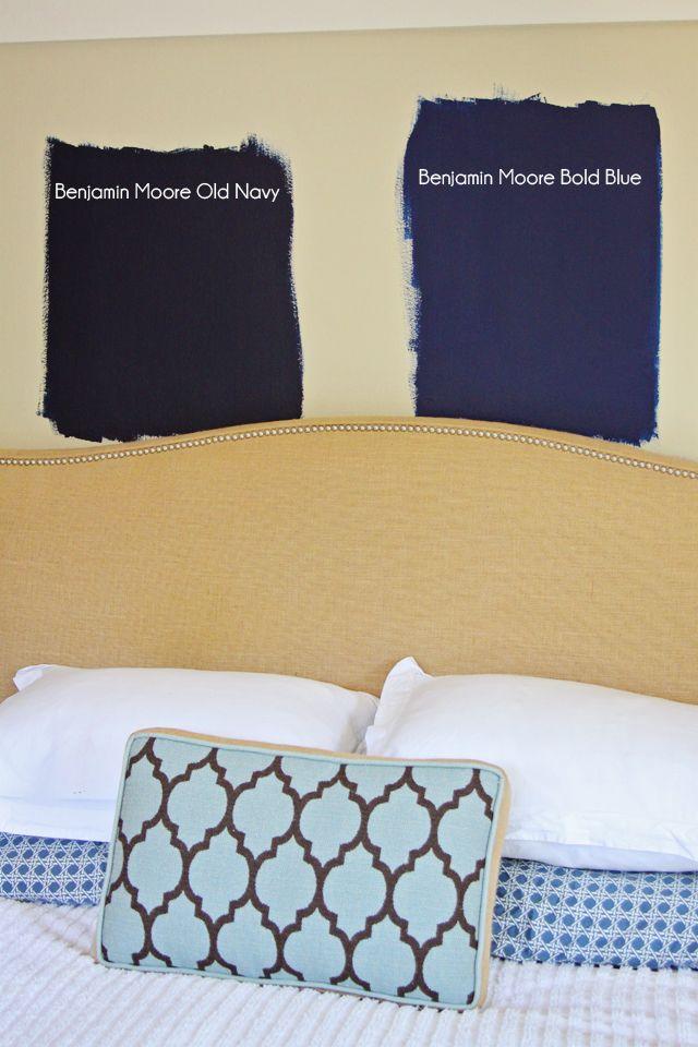 Benjamin Moore Bold Blue Bedroom Pinterest Blue And