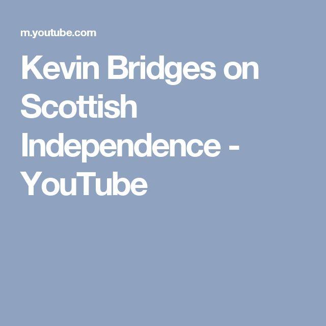 Kevin Bridges on Scottish Independence - YouTube