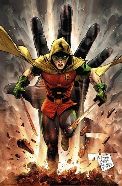 Damian Son of Batman #1 Variant - Tony S. Daniel