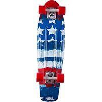 Penny Nickel Complete Skateboard, Patriot, 27 L