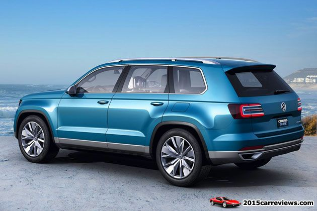 Unnamed 2016 Skoda SUV will be based on the VW CrossBlue SUV model shown on this pic.